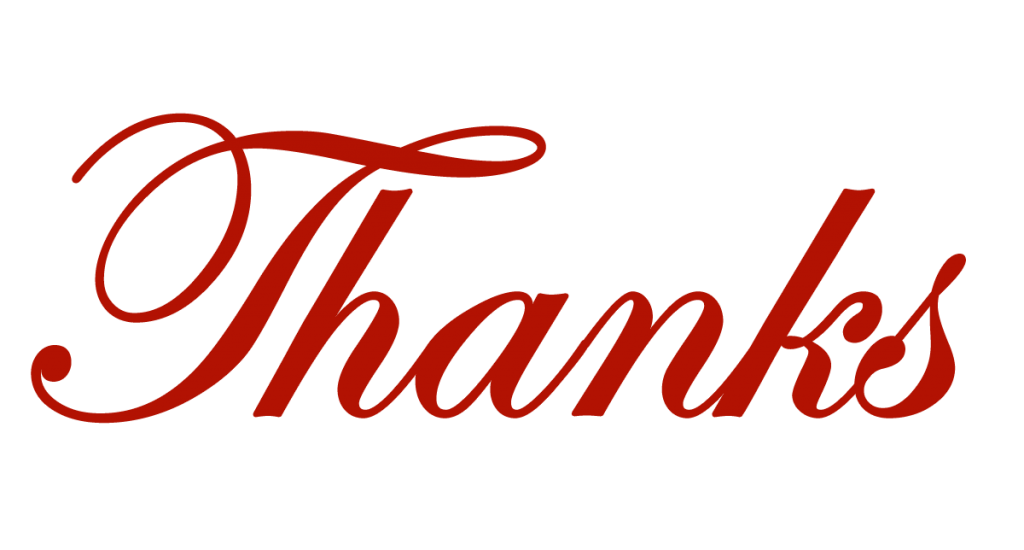 Free thank you clip. Thanks clipart end