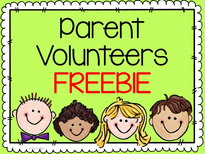 Thank you volunteers freebie. Volunteering clipart classroom volunteer