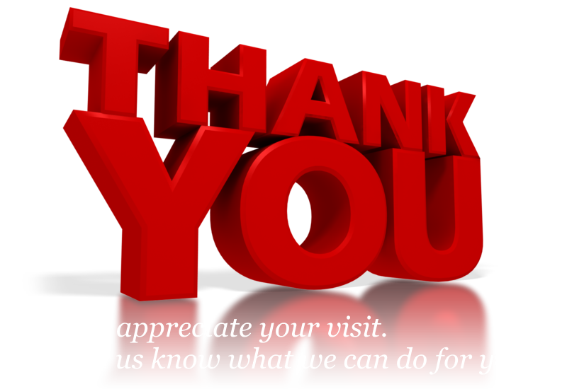 Thanks clipart red. Contact thankyouforyourvisit