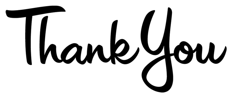 Thank you text transparent. Thanks clipart simple