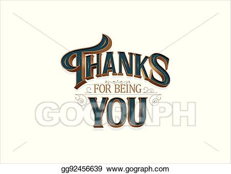 Eps vector for being. Thanks clipart simple