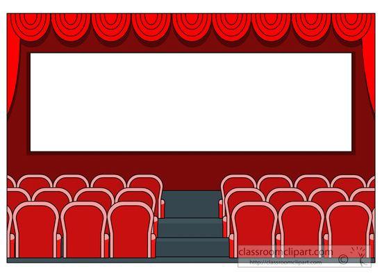 Theater free birthday hatenylo. Movie clipart movie hall