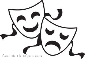 faces clipart theater