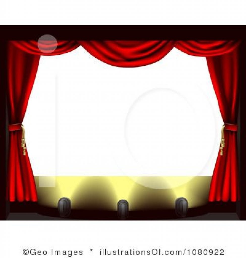 Picture frame throughout. Theatre clipart