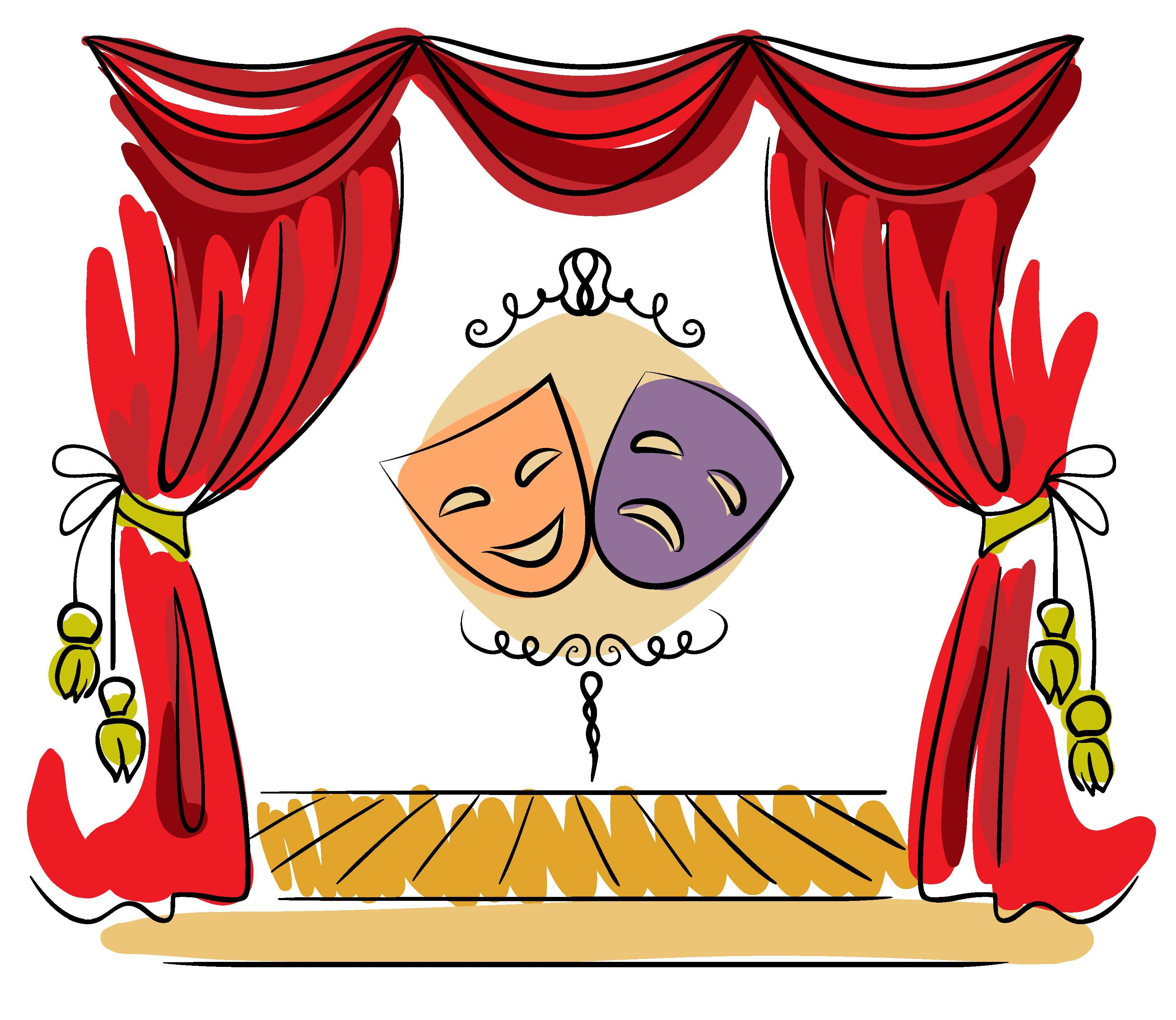 Pin by socialeyesnyc com. Theatre clipart childrens theater