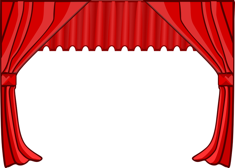 Theatre clipart footlights. Reading by nicol s