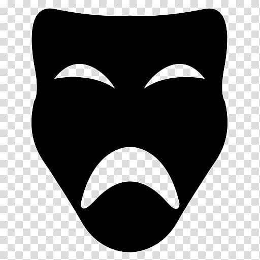 Theatre clipart joker mask. Smile face theater transparent