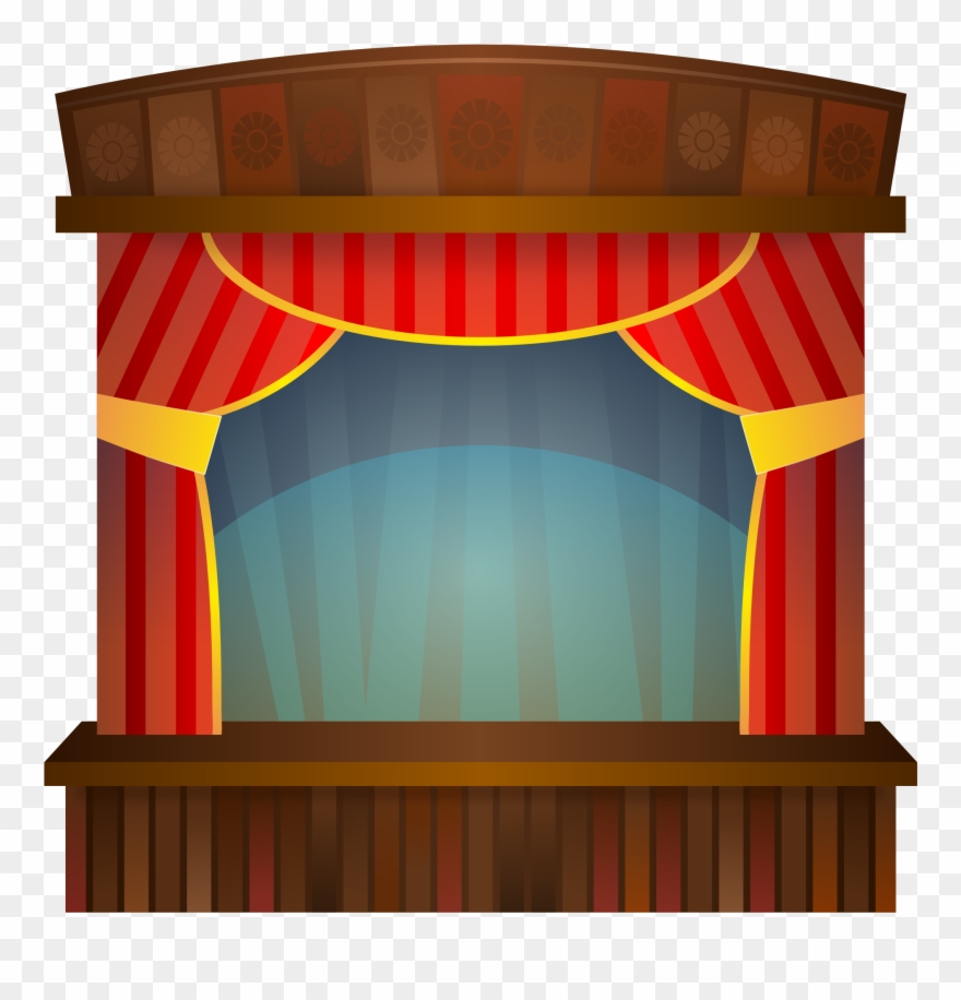 Theatre clipart opera stage. Images for clip art