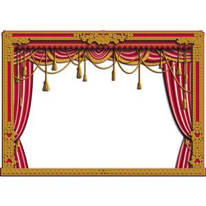 Theatre clipart opera stage. Free cliparts download clip