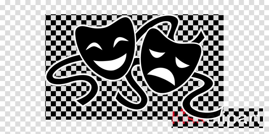 Theatre clipart speech drama. School black and white