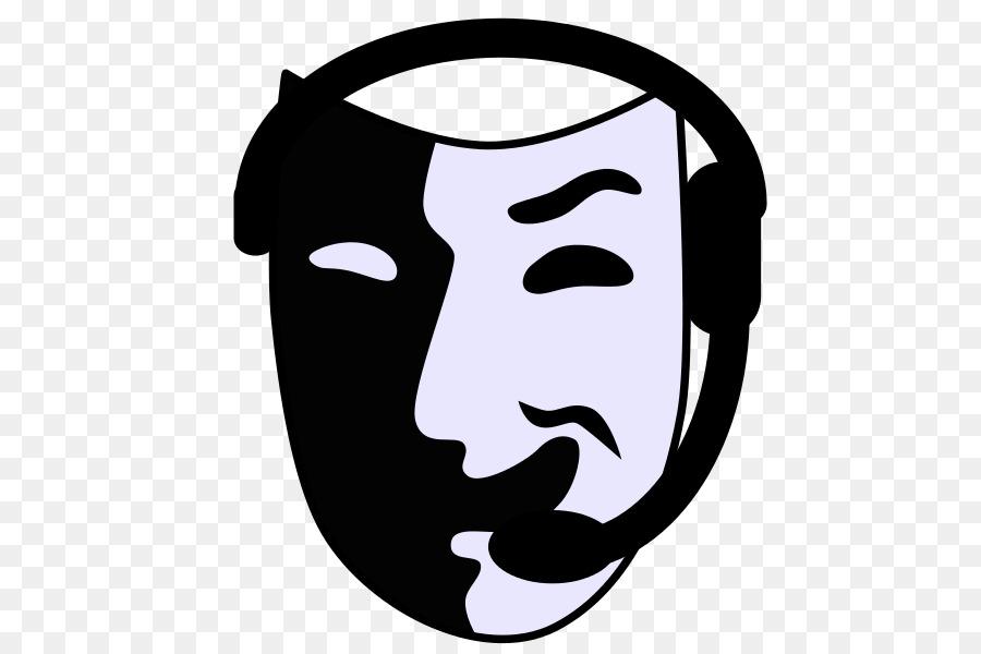 Theatre clipart stagecraft. Running cartoon play face