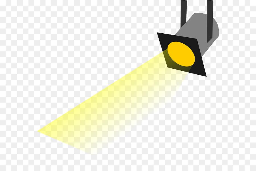 Theatre clipart theatre lighting. Triangle background light spotlight