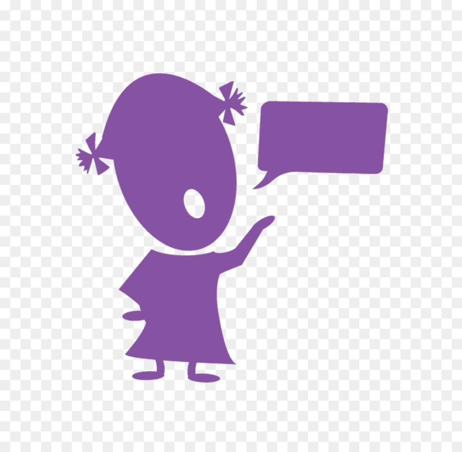 Therapy clipart speech impairment. Child cartoon purple pink