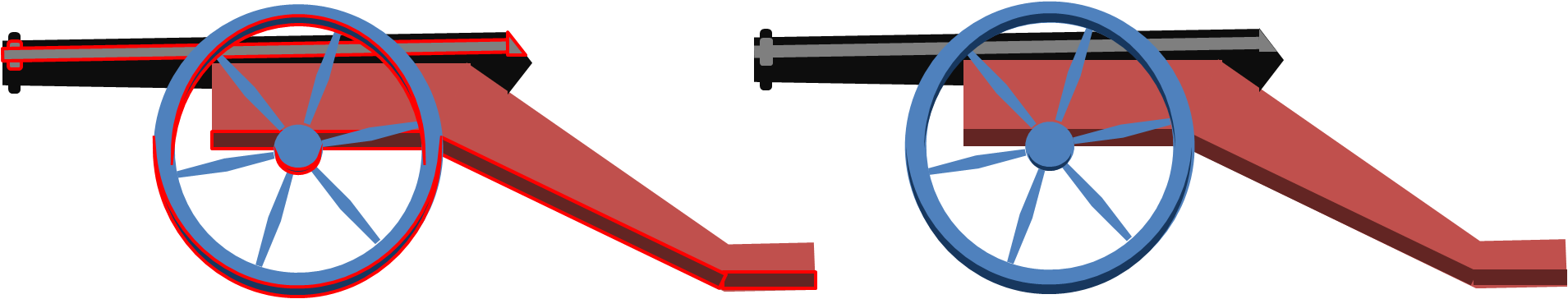 Powerpointy cannon. Clipart thermometer animated