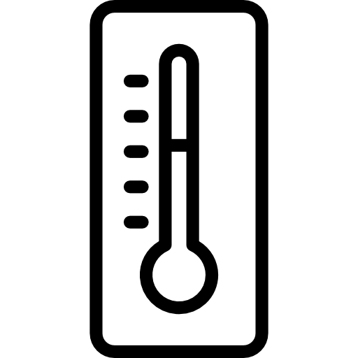 Icon png svg . Thermometer clip art clear background