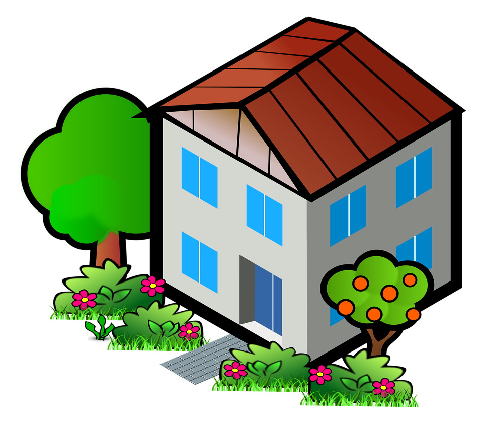 Home clipart neighborhood. Free transparent house cliparts