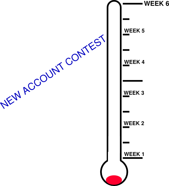 Thermometer clip art goal setting. Meter at clker com