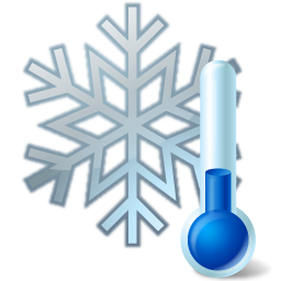 Snowflake icon iconset icons. Thermometer clip art weather