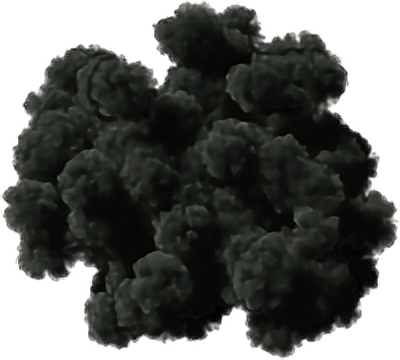 Thick smoke png. Ftestickers cloud black vector