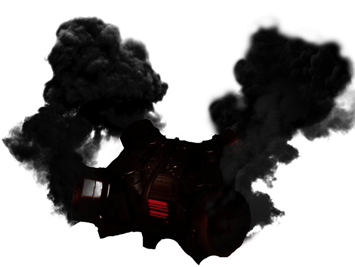 Approved black screamer generator. Thick smoke png