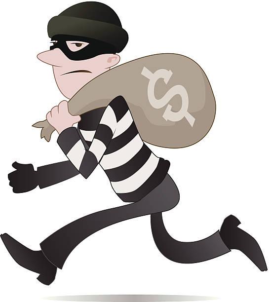 Burglar clipart cute. Thief cilpart gorgeous clipartxtras