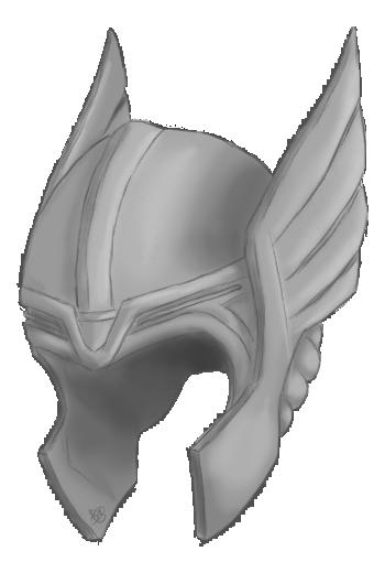 Thor helmet png. By ferrumpenna on deviantart