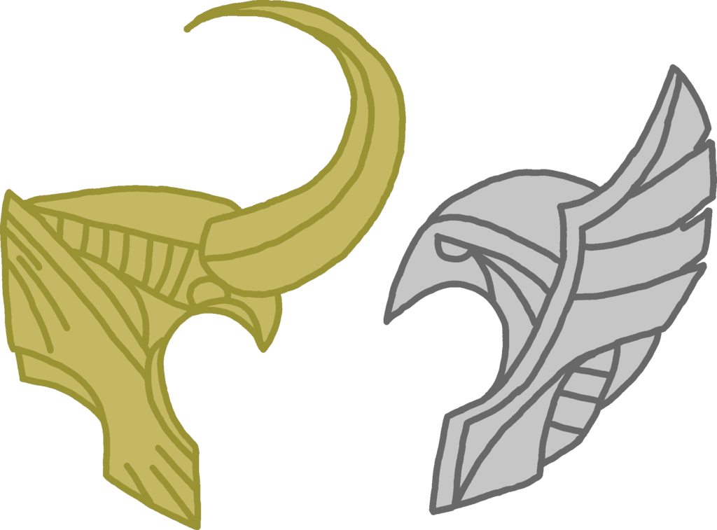 Thor helmet png. And loki by dragon