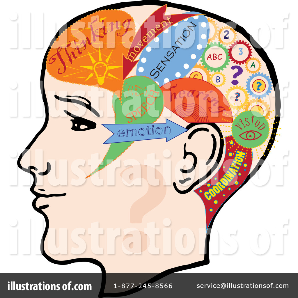 Thoughts clipart. Illustration by eugene royaltyfree