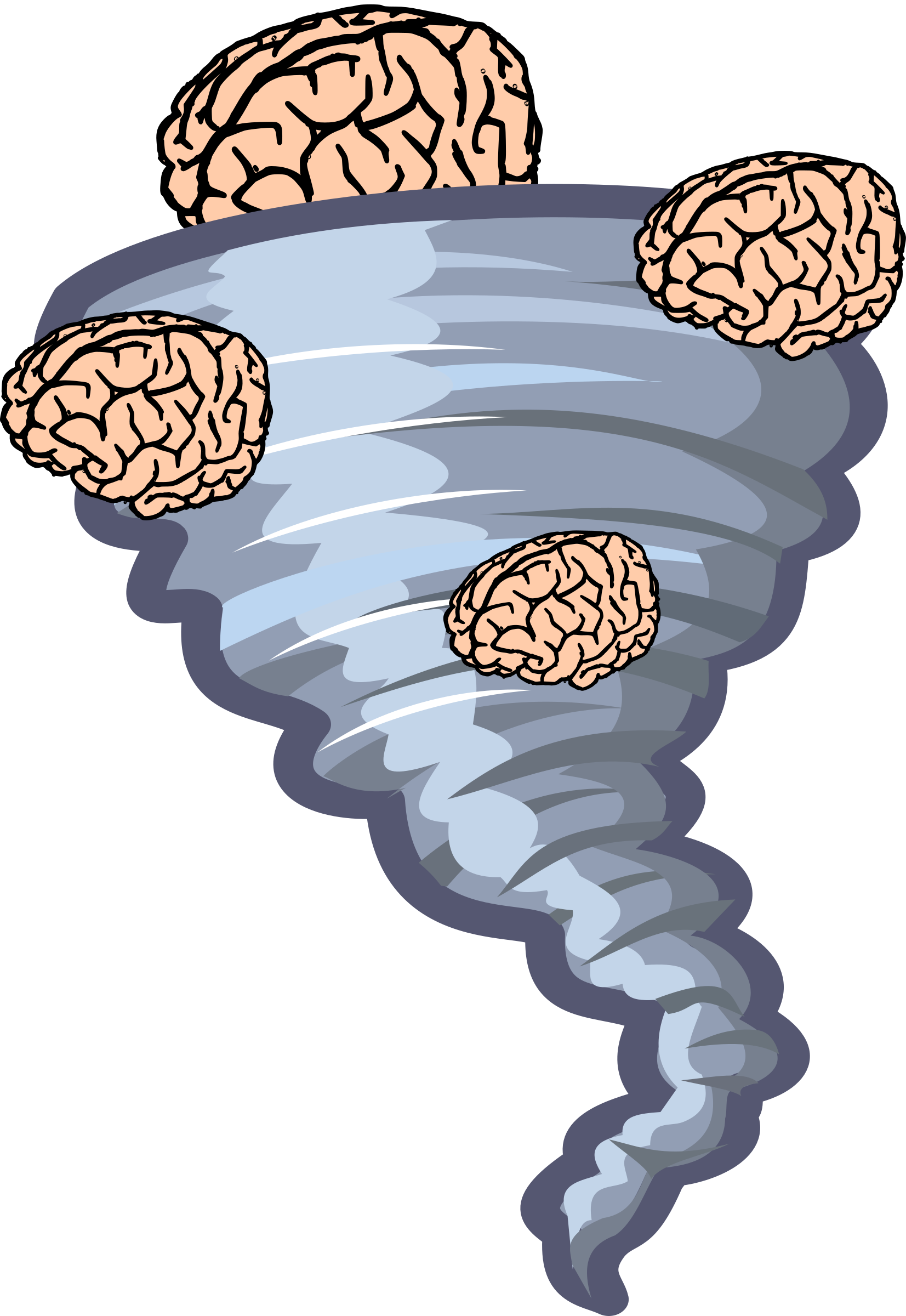 Brainstorm big image png. Thoughts clipart brain storm