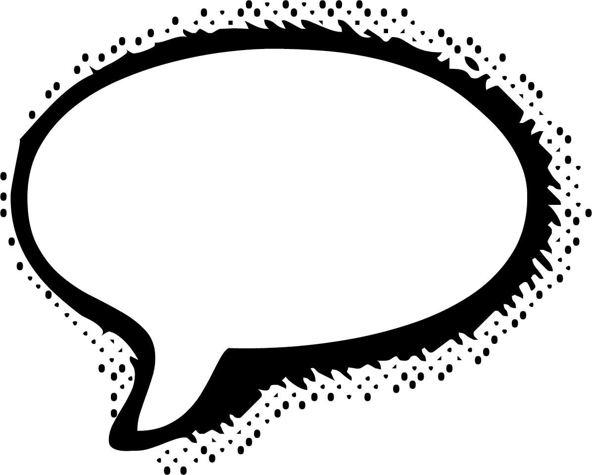 Thoughts clipart bubble text. Speech balloon comic book