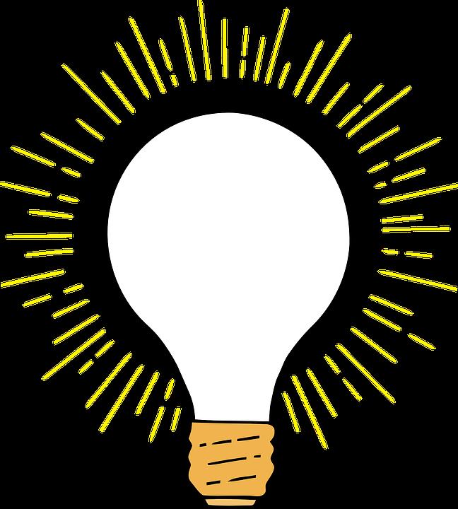 Bulb edison lightbulb free. Thoughts clipart buld