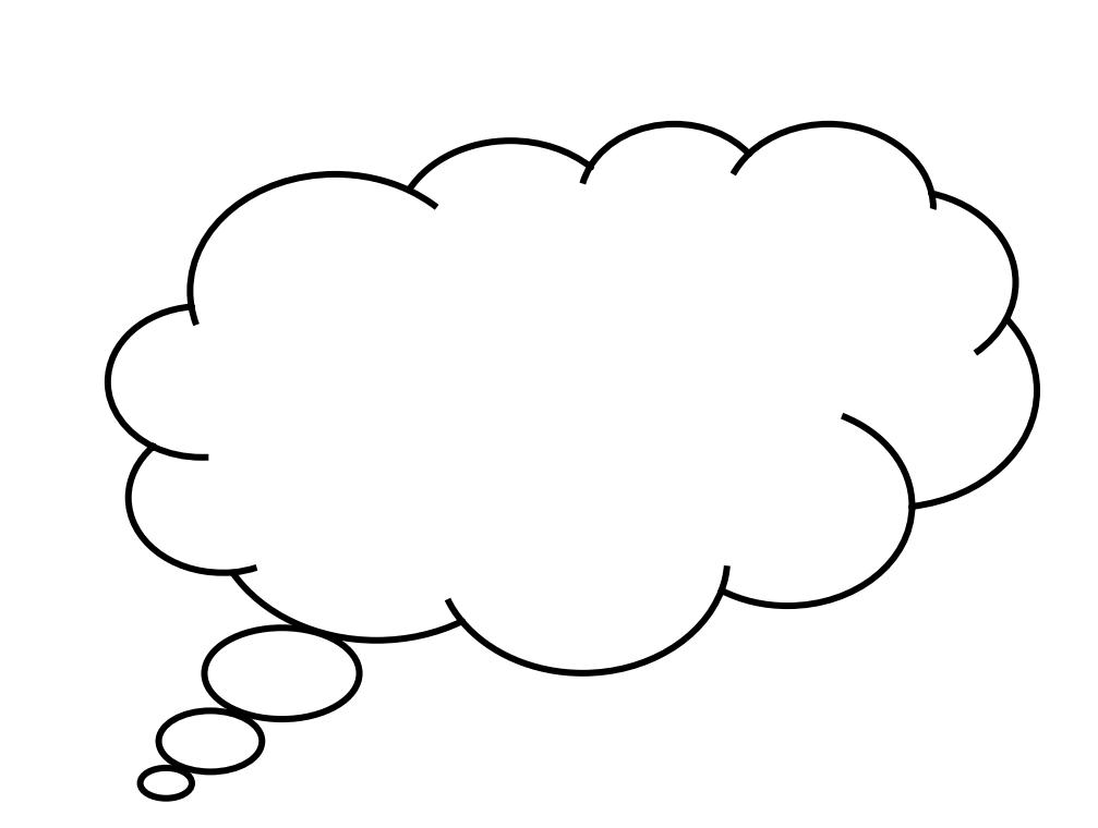 Thought pdf social bubbles. Thoughts clipart communication bubble