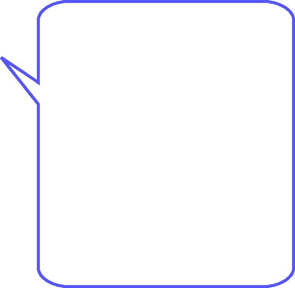 Thoughts clipart dialogue. Dialog bubble rectangle clip