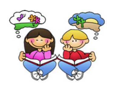 Thinking . Thoughts clipart reader