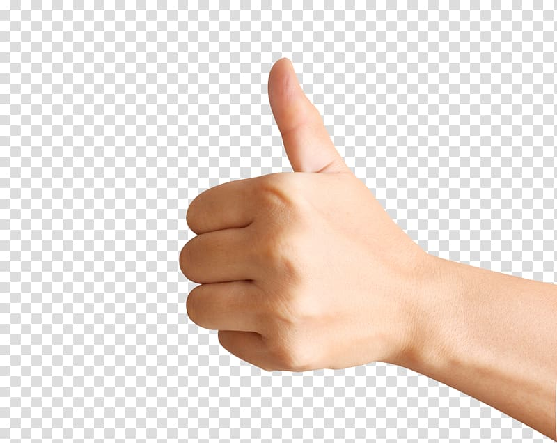 Thumb clipart arm. Person thumbs up hand