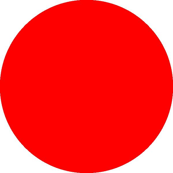 Red small clip art. Thumb clipart circle