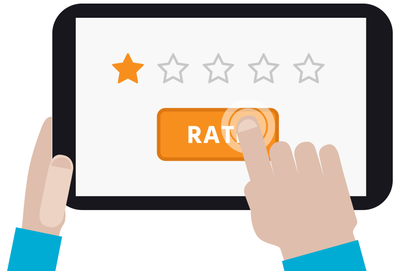 Thumb clipart customer review. What business owners can