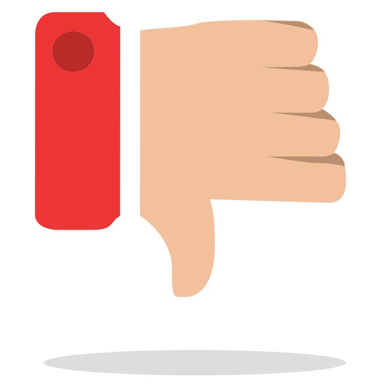 Showcasing your brand when. Thumb clipart customer review