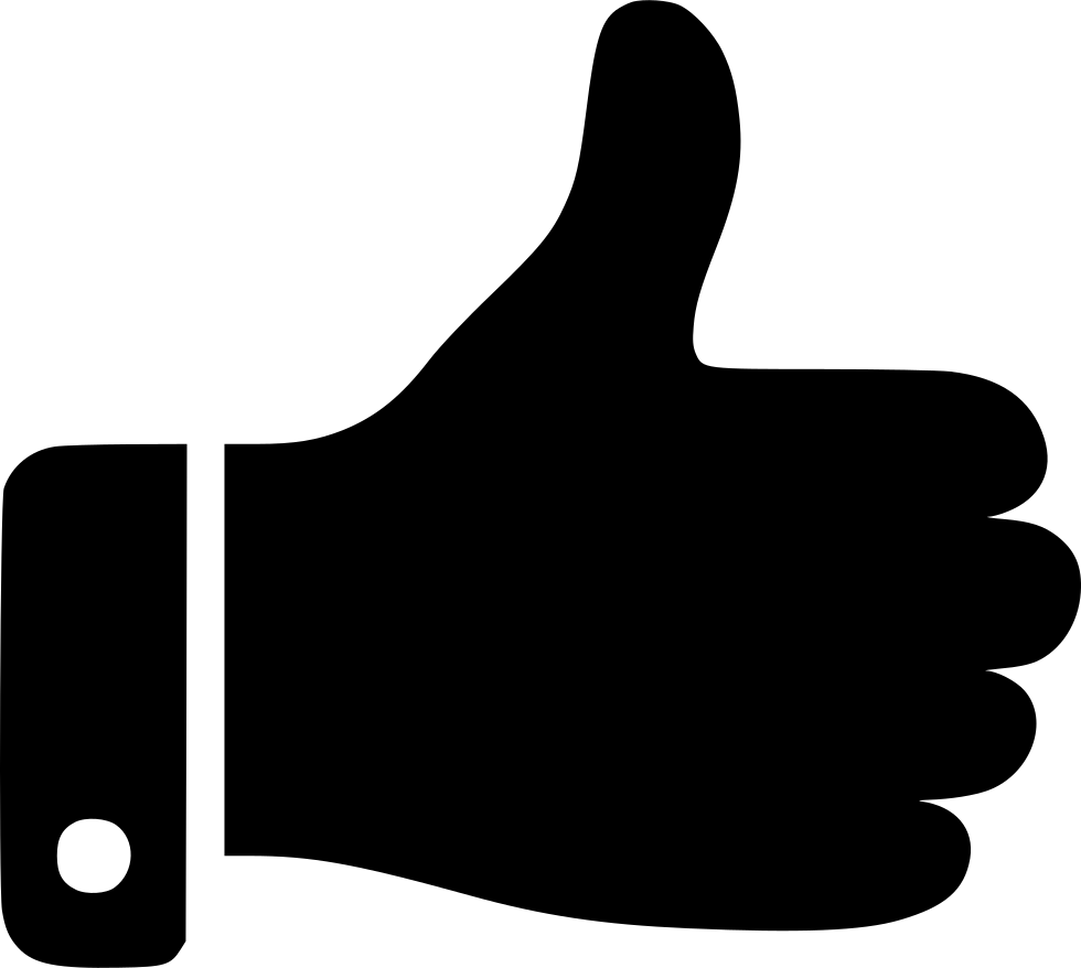Thumb clipart dow. Up svg png icon