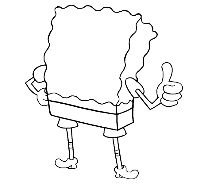 Thumb clipart easy. Hand line drawing at
