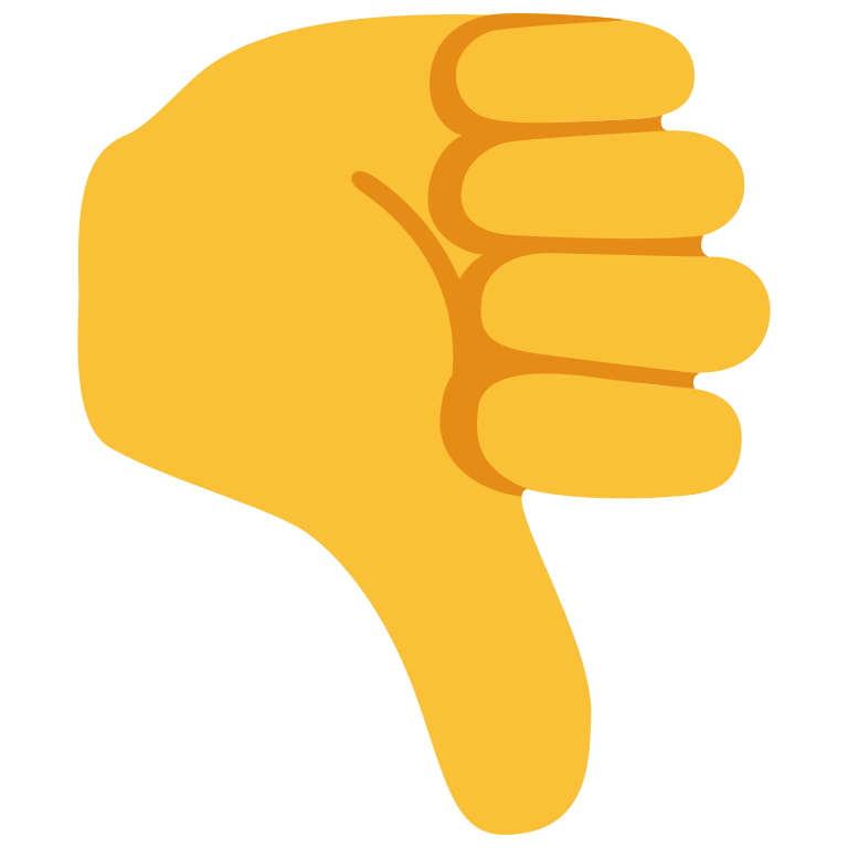 File u f e. Thumb clipart emoji
