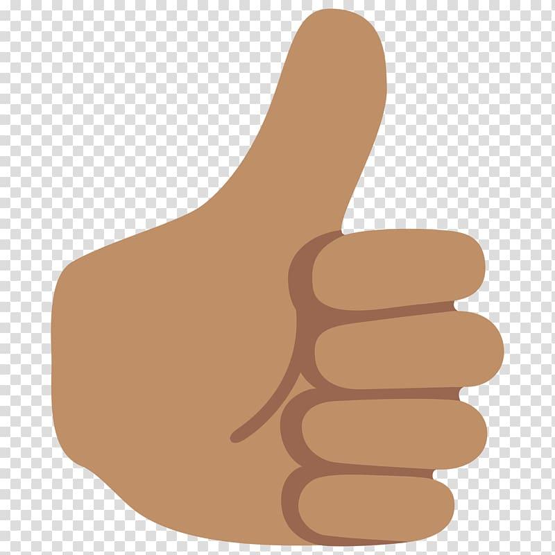 Thumb clipart emoji. Thumbs up signal noto