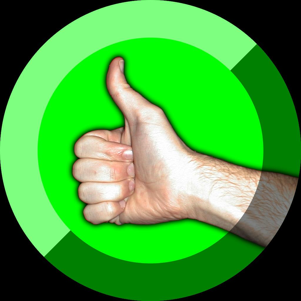 Thumb clipart good. File thumbs up symbol