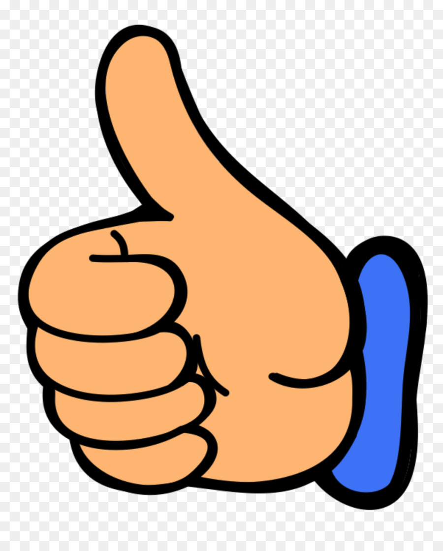 Thumb clipart hand. Cartoon transparent clip art