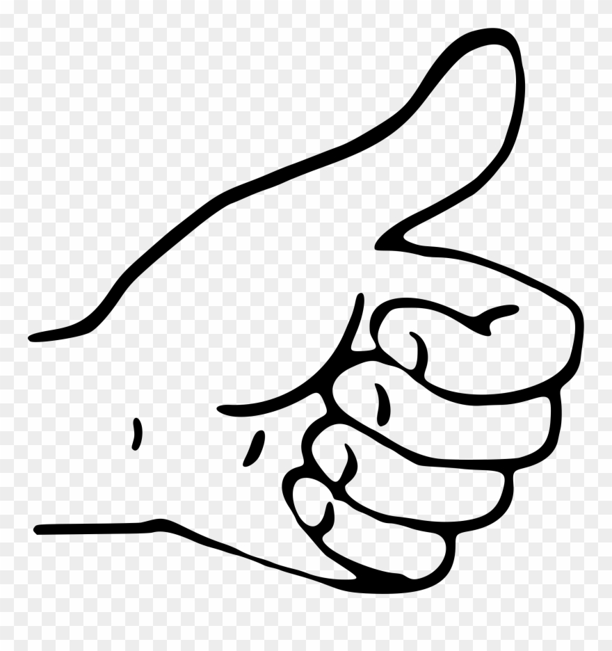 Thumb clipart hand. Thumbs up png download