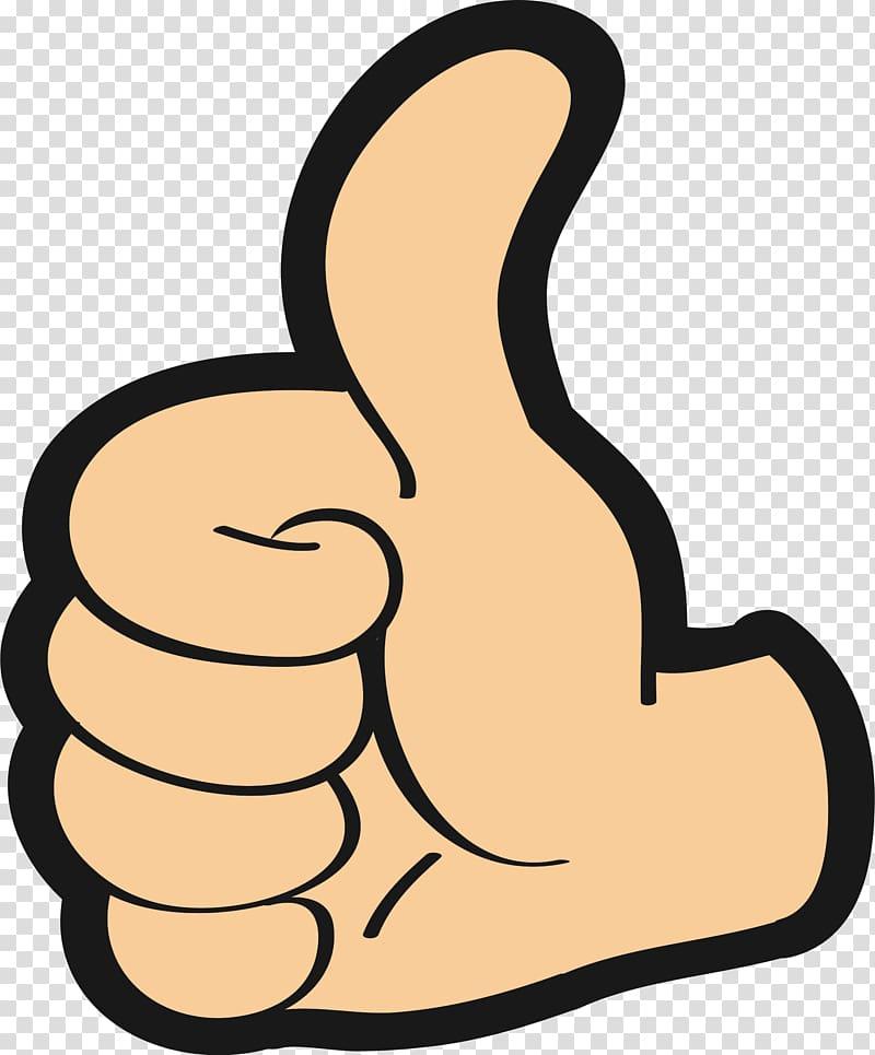 Gesture illustration signal encapsulated. Thumb clipart hand