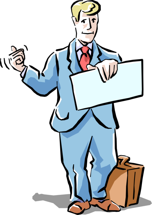 Thumb clipart hitchhiker's thumb. Entrepreneur hitchhiker with out