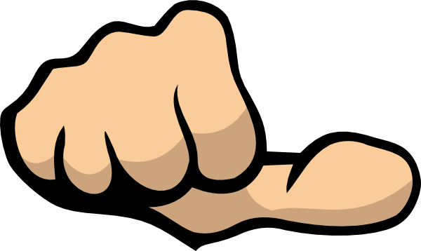 Rule of its about. Thumb clipart inch