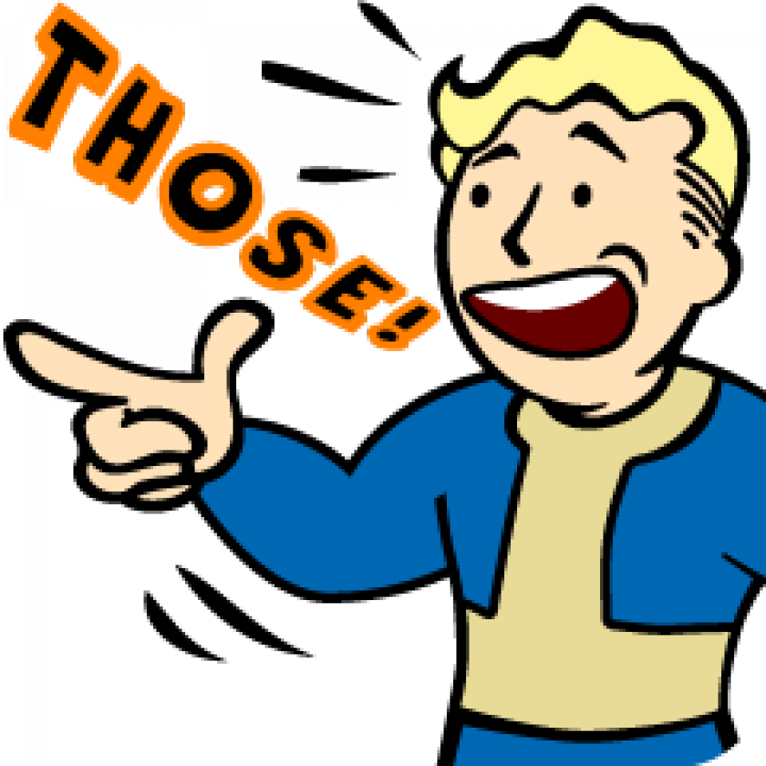 Fallout achievements and trophies. Thumb clipart neutral