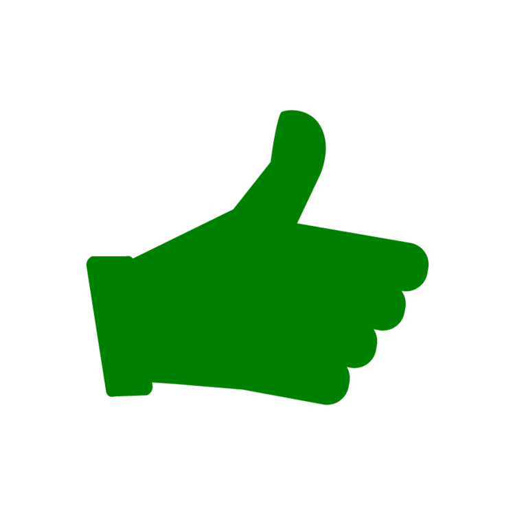 Thumb clipart pro. Thumbs up free icons